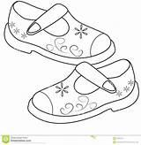 Shoes Coloring Shoe Drawing Pages Sandals Printable Kid Sheets Dreamstime Draw Drawings Paintingvalley Template Getdrawings Getcolorings Colorways sketch template