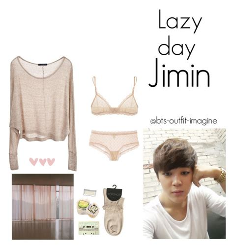 U0026quot;lazy day with jiminu0026quot; by effie-james liked on Polyvore featuring art simple kpop korean bts ...