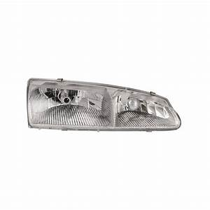 Headlight Right Passenger Side Assembly Fits 1996