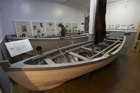 exhibits artefacts  wooden boat museum