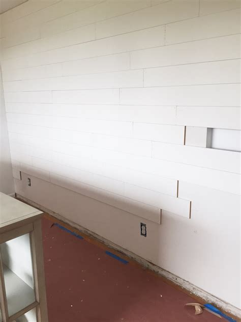 Mdf Shiplap Boards by Shiplap Walls What To Use Faq The Inspired Room