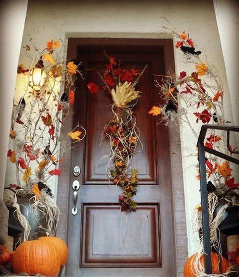 get into the seasonal spirit 15 fall front door décor ideas