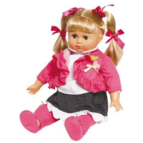 bebe siege poupée lola bavarde 46cm mon amour king jouet poupées