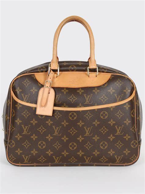 louis vuitton trouville monogram canvas luxury bags