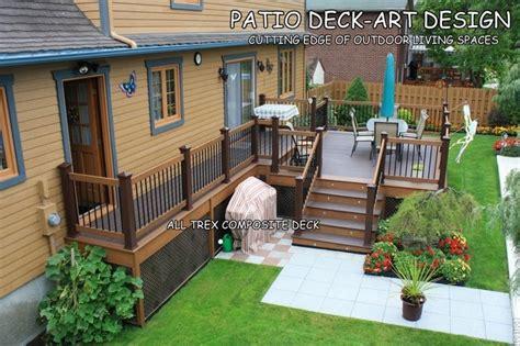 patio deck designs 174 trex traditional porch