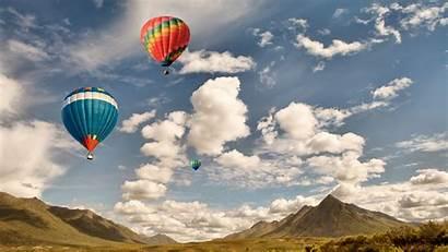 Air Wallpapers Balloons Bing Sky Puffy Peapix