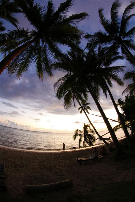 sunset   beach house  korolevu fiji chasbruns