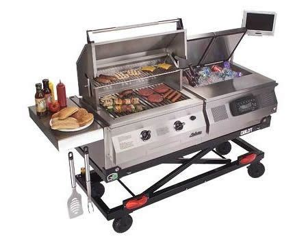 tailgate grill ultimate fold up tailgate grill smokers bbq s pizza ovens pin