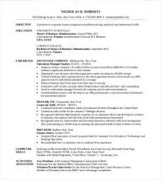 objective for mba application resume best resume gallery inspirational pictures
