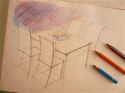 dessiner une chaise dessin table et chaise ouistitipop