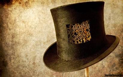 Steampunk Hat Cogs Wallpapers Gears Hats Desktop
