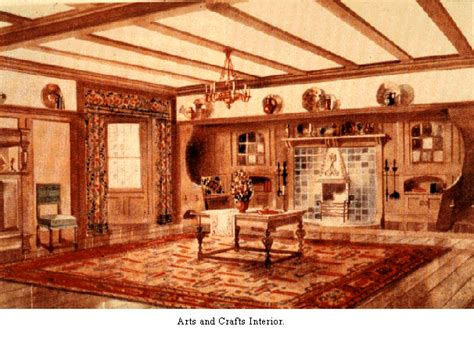 arts and crafts home interiors modern architecture ruskin le duc and semper