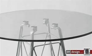 Esstisch Rund 100 Cm : glamour esstisch glas und chromgestell rund 100 cm powered by bell head preiswerte ~ Markanthonyermac.com Haus und Dekorationen