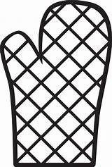 Oven Clipart Mitt Clip Kitchen Icon Mitts Cooking Gloves Vector Cliparts Svg Cartoon Mit Safety Cut Transparent Library Clipground Royalty sketch template