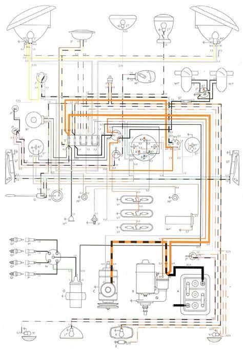 Vw Bu Diagram by Wiring The Split Screen Club