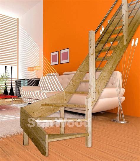 raumspartreppe 1 4 gewendelt starwood raumspartreppe 187 korfu 171 offene stufen 1 4 rechts gewendelt holz edelstahlgel re
