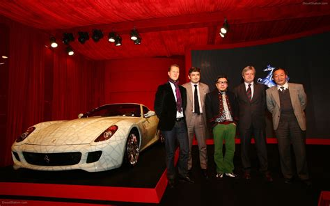 Ferrari 599 China Special By Lu Hao Widescreen Exotic Car