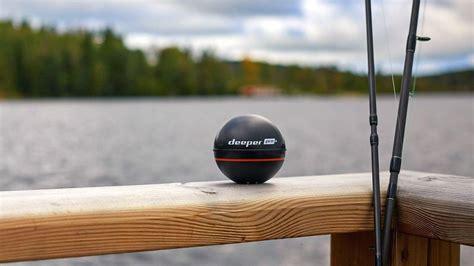 Deeper Smart Sonar PRO+ fish finder creates bathymetric ...