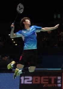 badminton jump smash son wan ho kor badminton