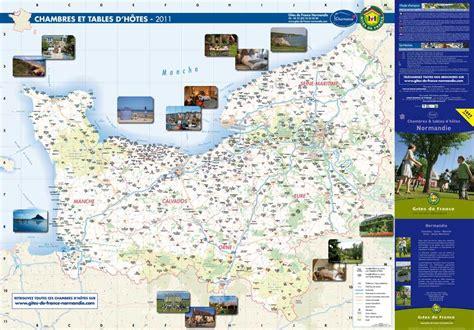 chambres d hote normandie calaméo carte des chambres d 39 hôtes 2011 en normandie