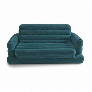 intex pull out inflatable sofa bed With pull out sofa bed air mattress
