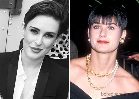 cuanto dano  celebridades  sus hijos  la misma edad