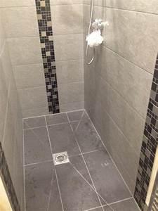 lovely mosaic wet room floor tiles kezcreativecom With mosaic floor tiles wet room