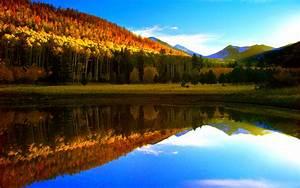Autumn Lake Wallpaper #6917923