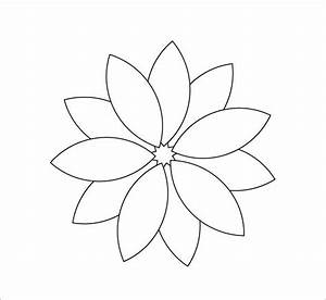Best 25 flower petal template ideas on pinterest paper for 12 petal flower template