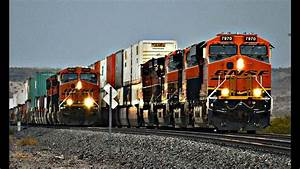 Hd  Bnsf Train Race   Meets   More