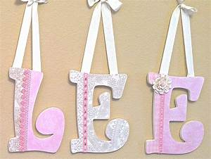 reserved listing for shopthreelittlebirds by theruggedpearl With nursery wall letters girl
