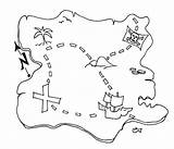 Treasure Coloring Pirate Map Pages Awesome Play Maps Template Pirates Printable Sheets Kidsplaycolor Ship sketch template