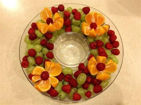 easy fruit tray ideas so simple so beautiful