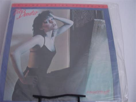 quot pat benatar in the heat of the factory sealed mfsl jvc half speed pressing quot