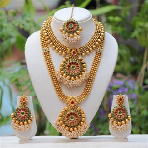 bridal artificial jewellery designs  wedding
