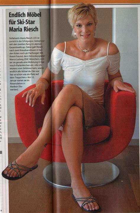 Maria Riesch Nude Auf Euorpaeu Nackte