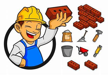 Bricklayer Tools Icon Vecteezy Resources System