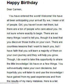 romantic birthday letter  girlfriend paragraph