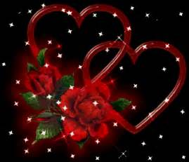 animation flower heart and rose pictures