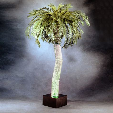 palm tree floor l midwest tropical ap 5m aqua palm indoor bubbling palm tree