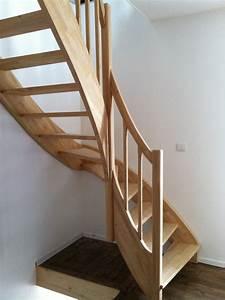 Escalier Sur Mesure Prix : escaliers en h v a nicolas dupriez escaliers bois ~ Edinachiropracticcenter.com Idées de Décoration