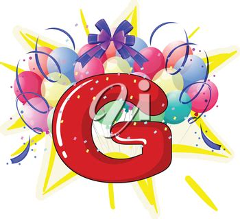 iclipart illustration  balloons  celebration