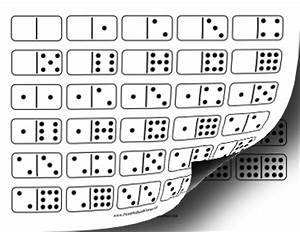 Printable Domino Double-Nine Set