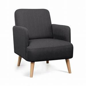 Fauteuil Bois Et Tissu : fauteuil r tro design bleu brooks look nordique by drawer ~ Teatrodelosmanantiales.com Idées de Décoration