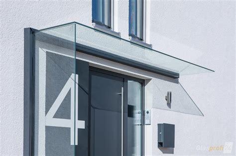 vordach mit windschutz aus glas glasprofi