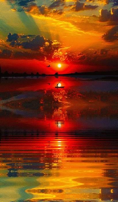 Nature Sky Sun Heart Sunset Sunrise Glorious