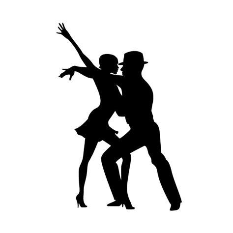 stickers porte de cuisine danseurs salsa lilit clicanddeco