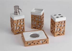 Accessoires Pour Salle De Bain : collection d 39 accessoires de salles de bain la perle rose ~ Edinachiropracticcenter.com Idées de Décoration