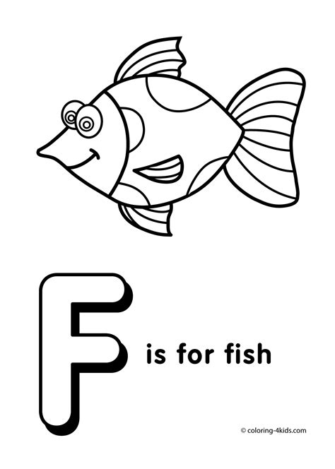 Coloring Letter F by Letter F Coloring Pages Alphabet Coloring Pages F Letter