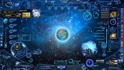 Futuristic Interface Computer